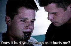 What's with writers knowing one of the most painful thing for us to watch besides someone losing their lover is a twin losing their twin?!?! This is playing dirty, and I won't stand for it!!!