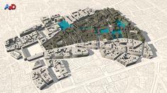 Proyecto urbanismo 3D Salamanca