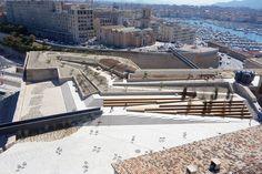Création d'un jardin promenade au fort Saint-Jean – Marseille | agence aps