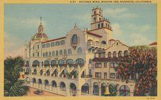 Mission Inn Rotunda Wing - Riverside, California