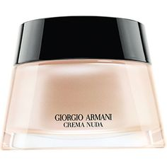 Giorgio Armani Crema Nuda tinted moisturiser 50ml (£130) ❤ liked on Polyvore featuring beauty products, makeup, face makeup, tinted moisturizer and giorgio armani