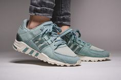 adidas EQT Running Support: Tactile Green