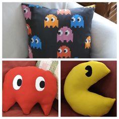 Pacman pillows