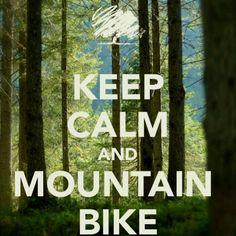 Keep calm and mountain bike Bmx, Mtb Bike, Bike Trails, Cycling Bikes, Road Bike, Cycling Art, Cycling Jerseys, Mtb Downhill, E Mtb