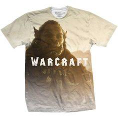 World of Warcraft Men's Premium Tee: Durotan Fade Wholesale Ref:WOWTS07MW