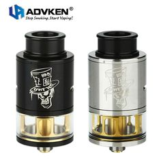 Original Advken Mad Hatter 24 RDTA 3.5ml Tank Electronic Cigarette Atomizer 510 Thread Rebuildable Atomizer Mad Hatter RDTA #Affiliate