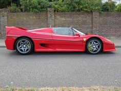 1997 Ferrari F50 | Rosso with Red Leather