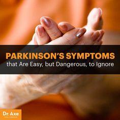 Parkinson's symptoms - Dr. Axe