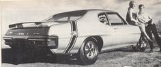 "1970 Pontiac ""The Jury"" sold only in Canada at one dealership...."