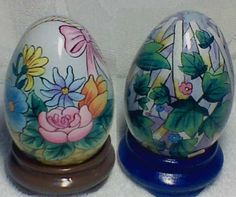 Hand Painted Easter Eggs | Glass Easter Eggs With Hand Painting
