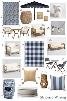 Coastal Inspired Outdoor Spaces: How to Get The Serena and Lily Look for Less Outdoor Couch, Outdoor Living, Beach House Vacation Rentals, Balkon Design, Charleston Homes, Pool Furniture, Decks And Porches, Florida Home, Home Decor Accessories