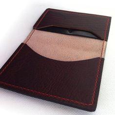Custom Bison Cash & Card wallet.  Made in Oregon USA.  jmichaelashland.com.  #leather #wallet #menstyle #madeinusa #bison