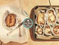 Patate al cartoccio con pancetta e rosmarino