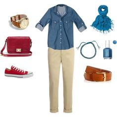 Casual chic by www.lookingstylish.co.uk, created by mfsadler