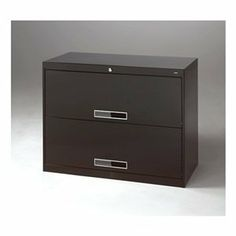File Cabinet, 17-5/16 In D, 2 Drawer, Black by Tennsco. $565.91. File Cabinet, Solid Drawer Front, lateral, Width 36 In., Depth 17-5/16 In., Height 27-9/16 In., Color Black, Number of Drawers or Bins 2