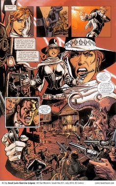 Jose Luis Garcia Lopez All Star Western #31 Madame 44