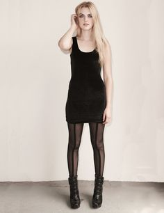 Hey, I found this really awesome Etsy listing at https://www.etsy.com/listing/103655125/mesh-leggings-sheer-dark-black-footless