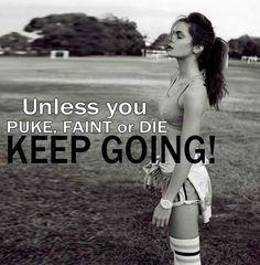 You won't die....