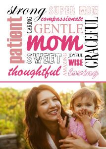 Mixbook Mom Collage Mother's Day Cards