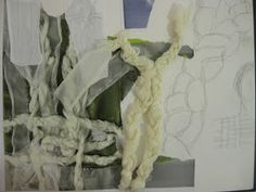 Fashion Sketchbook fashion design research, exploration, textile manipulation and idea development