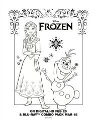 Free Printable Coloring Page  Elsa from Disneys Frozen  FROshen