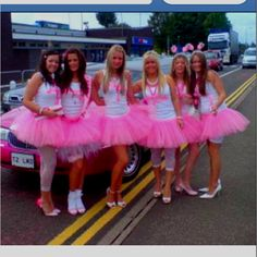 Bachelorette Party Idea Except Girls Will B In Turq And Me White I So Want To Dress Up Be Obnoxious With Long Socks Bride Shirts