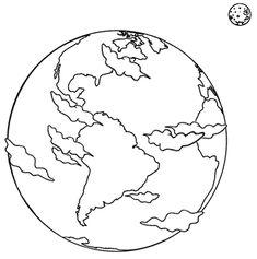 Risultati immagini per immagini da colorare del pianeta