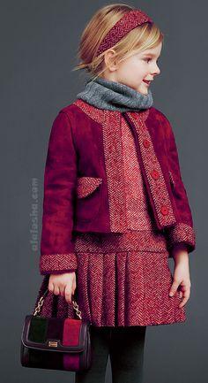 ALALOSHA: VOGUE ENFANTS: Colección Real de Dolce & Gabbana para las niñas