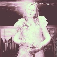 """Платье валяное на шёлке """"Rose"""" - бледно-розовый,абстрактный,платье в пол"""