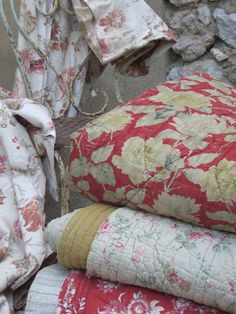 antique french quilts