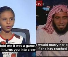 11-Year-Old Child Bride Debates Muslim Cleric Who Supports Child Rape