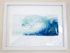 Stained & Fused Glass Designer in Newquay Cornwall, private commissions, fused glass wall art & waves for galleries. Trained in architectural Stained Glass Fused Glass Art, Stained Glass Art, Mosaic Glass, Glass Vase, Glass Artwork, Glass Wall Art, Alcohol Ink Crafts, Shattered Glass, Marble Art