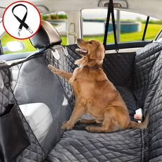 Vailge Dog Seat Cover for Back Seat, Waterproof Dog Car Seat Covers with Mesh Window, Scratch Proof Nonslip Dog Car Hammock, Car Seat Covers for Dogs, Dog Backseat Cover for Cars SUV – Standard – Cat And Dog Deals Back Seat Dog Cover, Pet Car Seat Covers, Dog Car Seats, Dog Hammock For Car, Dog In Car, Hammock Cover, Waterproof Seat Covers, Melbourne, Dog Seat Belt