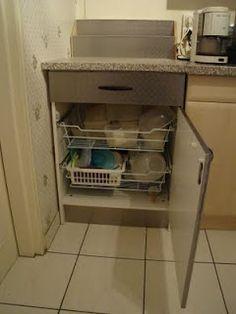 dishwasher drawer shelving