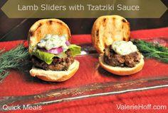 Lamb Sliders with Tzatziki Sauce Recipe on Yummly