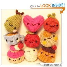 Cute Tiny Amigurumi Crochet Patternfor Mini Foods, Kindle download from Ana Paula Rimoli