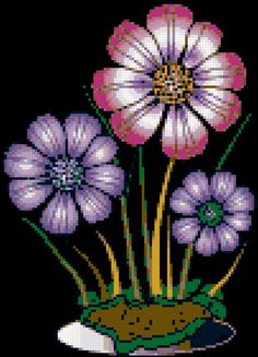 Hey, I found this really awesome Etsy listing at https://www.etsy.com/au/listing/259259910/sweet-bright-flowers-cross-stitch