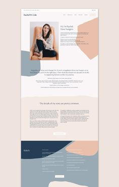 an anti-diet, fat positive life coach and certified Intuitive Eating counselor. Website Design Inspiration, Website Design Layout, Wordpress Website Design, Layout Inspiration, Layout Design, Fat Positive, Positive Life, Template Web, Website Template