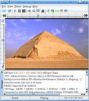 KPlayer is a KDE multimedia player.   Ubuntuland & The Dream Valley Multimedia, Desktop Screenshot, Software