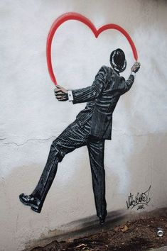 Street Art by Nick Walker. °
