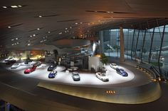 BMW Welt is compelling for its distinctive futuristic architecture and the wide range of exhibitions and events on offer. One unique aspect is the individual, personally staged delivery of new vehicles. Around 15,000 new BMW cars a year are handed over to customers from around the world. the latest range of cars and motorcycles, interactive exhibits afford insights into innovation, development, design,production. This is where the BMW brand can be experienced with all the senses