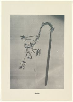 """Sigmar Polke with Christof  Kohlhöfer. Whip (Peitsche) from .....Higher Beings Ordain (.....Höhere Wesen befehlen). 1968. Christof  Kohlhöfer. One from a portfolio of 14 photolithographs. plate: 8 11/16 x 6 3/8"""" (22.1 x 16.2 cm); sheet: 11 7/16 x 8 1/4"""" (29 x 20.9 cm). Edition René Block, Berlin. Zahl, Berlin. 50. Gift of the Associates of the Department of Prints and Illustrated Books. 103.1998.14. © 2017 Estate of Sigmar Polke / Artists Rights Society (ARS..."""