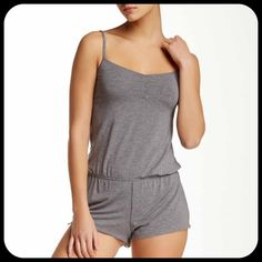 SPLENDID Soft Gray Lounge Romper XS S M L NWT Splendid lounge romper, retails $58. Amazingly comfy and soft. Regular fit. Available in sizes XS, S, M, L. Please ask for a separate listing for the size you'd like :) Bundles welcome! Splendid Pants Jumpsuits & Rompers