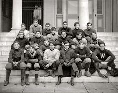 Western High Football, c. 1905 (via Shorpy Historical Photo Archive)