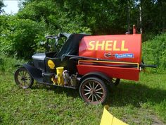 Model T Shell Fuel Tanker