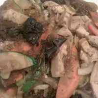 potato noodles, veggie - Ilsong Garden Korean BBQ and Sushi in San Antonio.