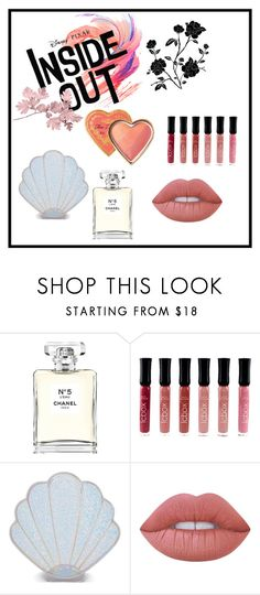 """FAV"" by ingesabiella on Polyvore featuring beauty, Disney, Chanel, Sugar Thrillz, Lime Crime and Too Faced Cosmetics"