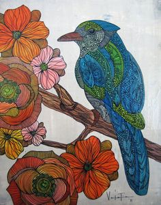 Mixed Media Drawings by Valentina Harper   Cuded