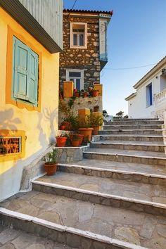 Steps in Kokkari Samos Island