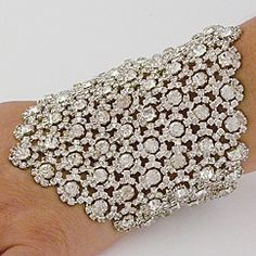 Discover Margaret Rowe Wedding Jewelry. Vintage couture crystal bridal cuffs & wedding bracelets worn by celebrities around the world. Find your red carpet glamour at Perfect Details.